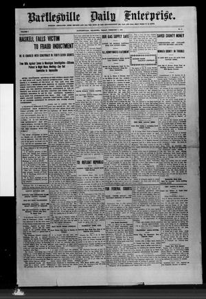 Primary view of object titled 'Bartlesville Daily Enterprise. (Bartlesville, Okla.), Vol. 5, No. 5, Ed. 1 Friday, February 5, 1909'.