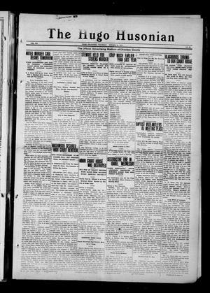 Primary view of The Hugo Husonian (Hugo, Okla.), Vol. 12, No. 27, Ed. 1 Thursday, October 23, 1913