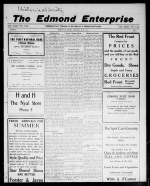 Primary view of object titled 'The Edmond Enterprise (Edmond, Okla.), Vol. 14, No. 8, Ed. 1 Thursday, May 7, 1914'.