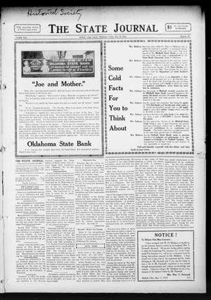 Primary view of object titled 'The State Journal (Mulhall, Okla.), Vol. 12, No. 24, Ed. 1 Friday, May 15, 1914'.