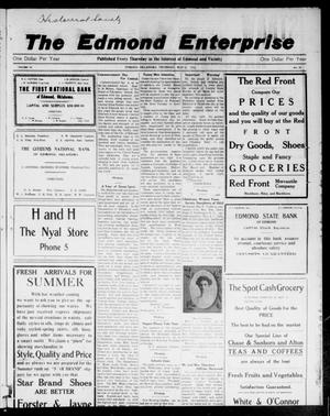 Primary view of object titled 'The Edmond Enterprise (Edmond, Okla.), Vol. 14, No. 10, Ed. 1 Thursday, May 21, 1914'.