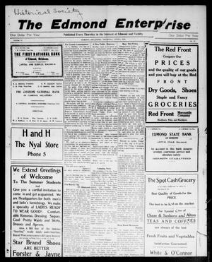Primary view of object titled 'The Edmond Enterprise (Edmond, Okla.), Vol. 14, No. 12, Ed. 1 Thursday, June 4, 1914'.