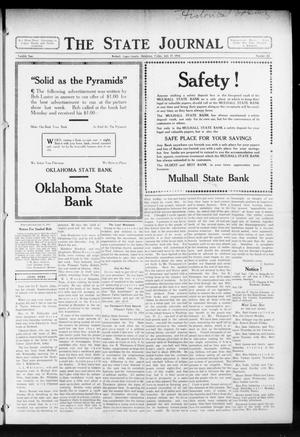 Primary view of object titled 'The State Journal (Mulhall, Okla.), Vol. 12, No. 33, Ed. 1 Friday, July 17, 1914'.