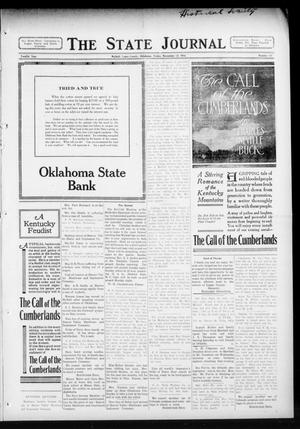 Primary view of object titled 'The State Journal (Mulhall, Okla.), Vol. 12, No. 50, Ed. 1 Friday, November 13, 1914'.