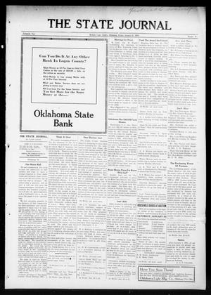 Primary view of object titled 'The State Journal (Mulhall, Okla.), Vol. 13, No. 8, Ed. 1 Friday, January 22, 1915'.