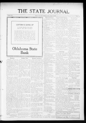 Primary view of object titled 'The State Journal (Mulhall, Okla.), Vol. 13, No. 9, Ed. 1 Friday, January 29, 1915'.
