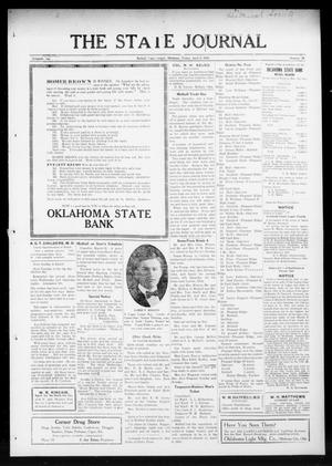 Primary view of object titled 'The State Journal (Mulhall, Okla.), Vol. 13, No. 18, Ed. 1 Friday, April 2, 1915'.