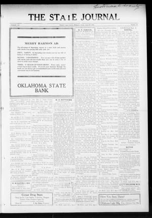 Primary view of object titled 'The State Journal (Mulhall, Okla.), Vol. 13, No. 21, Ed. 1 Friday, April 23, 1915'.