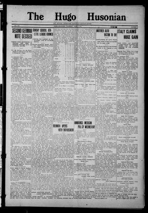 Primary view of The Hugo Husonian (Hugo, Okla.), Vol. 14, No. 9, Ed. 1 Thursday, June 3, 1915