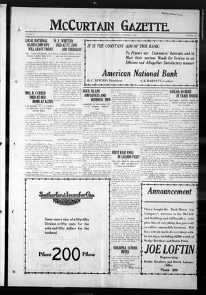 Primary view of McCurtain Gazette. (Idabel, Okla.), Vol. 14, No. 73, Ed. 1 Saturday, November 1, 1919