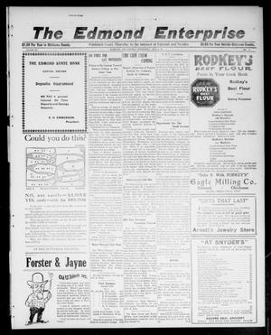 Primary view of object titled 'The Edmond Enterprise (Edmond, Okla.), Vol. 22, No. 1, Ed. 1 Thursday, February 2, 1922'.