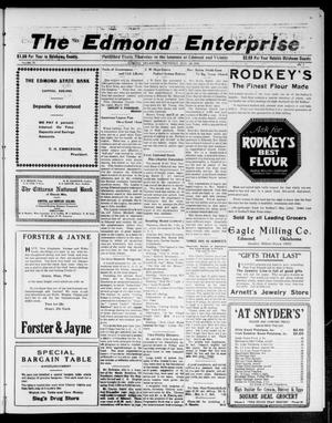 Primary view of object titled 'The Edmond Enterprise (Edmond, Okla.), Vol. 22, No. 7, Ed. 1 Thursday, March 16, 1922'.