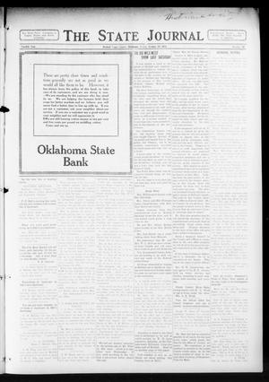 Primary view of object titled 'The State Journal (Mulhall, Okla.), Vol. 12, No. 48, Ed. 1 Friday, October 30, 1914'.