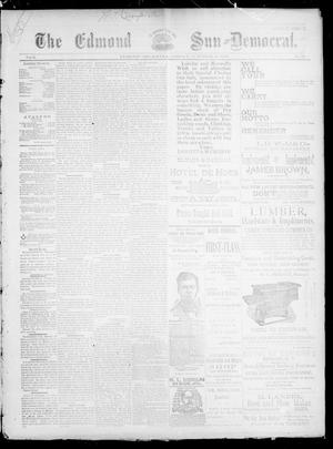 Primary view of object titled 'The Edmond Sun--Democrat. (Edmond, Okla.), Vol. 5, No. 13, Ed. 1 Friday, October 27, 1893'.