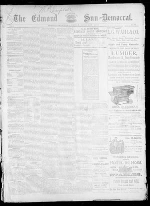 Primary view of object titled 'The Edmond Sun--Democrat. (Edmond, Okla.), Vol. 5, No. 30, Ed. 1 Friday, February 2, 1894'.