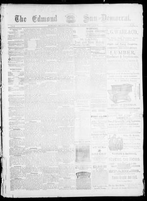 Primary view of object titled 'The Edmond Sun--Democrat. (Edmond, Okla.), Vol. 5, No. 31, Ed. 1 Friday, February 9, 1894'.
