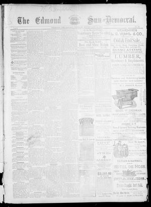 Primary view of object titled 'The Edmond Sun--Democrat. (Edmond, Okla.), Vol. 5, No. 32, Ed. 1 Friday, February 16, 1894'.