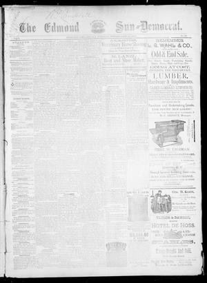Primary view of object titled 'The Edmond Sun--Democrat. (Edmond, Okla.), Vol. 5, No. 33, Ed. 1 Friday, February 23, 1894'.