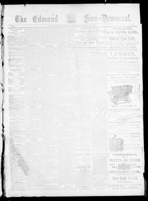 Primary view of object titled 'The Edmond Sun--Democrat. (Edmond, Okla.), Vol. 5, No. 37, Ed. 1 Friday, March 23, 1894'.