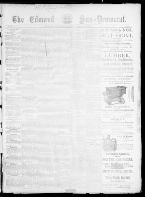 Primary view of object titled 'The Edmond Sun--Democrat. (Edmond, Okla.), Vol. 5, No. 41, Ed. 1 Friday, April 20, 1894'.