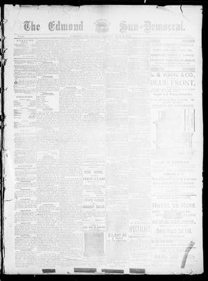 Primary view of object titled 'The Edmond Sun--Democrat. (Edmond, Okla.), Vol. 5, No. 44, Ed. 1 Friday, May 11, 1894'.