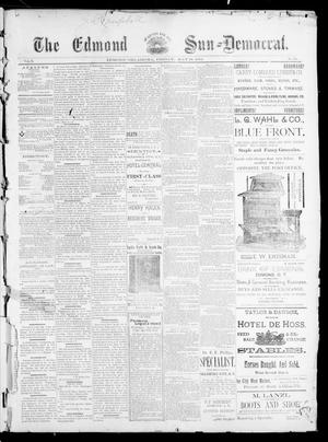 Primary view of object titled 'The Edmond Sun--Democrat. (Edmond, Okla.), Vol. 5, No. 45, Ed. 1 Friday, May 18, 1894'.