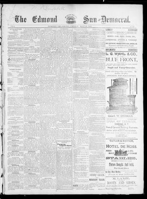 Primary view of object titled 'The Edmond Sun--Democrat. (Edmond, Okla.), Vol. 5, No. 46, Ed. 1 Friday, May 25, 1894'.