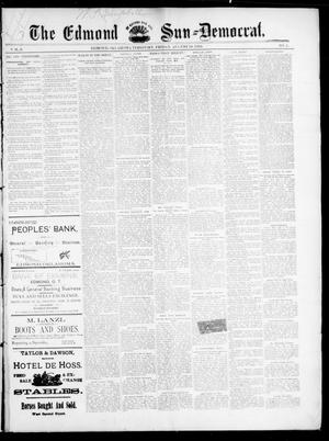 Primary view of object titled 'The Edmond Sun--Democrat. (Edmond, Okla. Terr.), Vol. 6, No. 5, Ed. 1 Friday, August 10, 1894'.