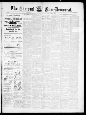 Primary view of object titled 'The Edmond Sun--Democrat. (Edmond, Okla. Terr.), Vol. 6, No. 7, Ed. 1 Friday, August 24, 1894'.