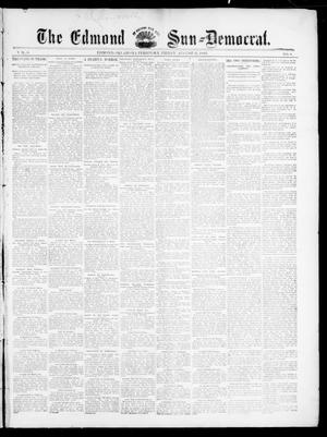 Primary view of object titled 'The Edmond Sun--Democrat. (Edmond, Okla. Terr.), Vol. 6, No. 8, Ed. 1 Friday, August 31, 1894'.