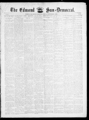Primary view of object titled 'The Edmond Sun--Democrat. (Edmond, Okla. Terr.), Vol. 6, No. 9, Ed. 1 Friday, September 7, 1894'.
