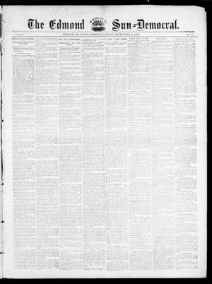Primary view of object titled 'The Edmond Sun--Democrat. (Edmond, Okla. Terr.), Vol. 6, No. 10, Ed. 1 Friday, September 14, 1894'.