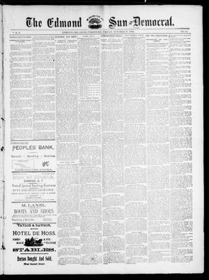 Primary view of object titled 'The Edmond Sun--Democrat. (Edmond, Okla. Terr.), Vol. 6, No. 15, Ed. 1 Friday, October 19, 1894'.