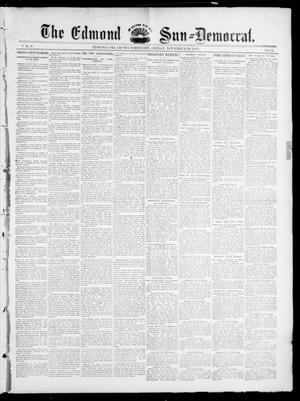 Primary view of object titled 'The Edmond Sun--Democrat. (Edmond, Okla. Terr.), Vol. 6, No. 21, Ed. 1 Friday, November 30, 1894'.