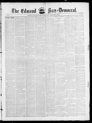 Primary view of object titled 'The Edmond Sun--Democrat. (Edmond, Okla. Terr.), Vol. 6, No. 22, Ed. 1 Friday, December 7, 1894'.