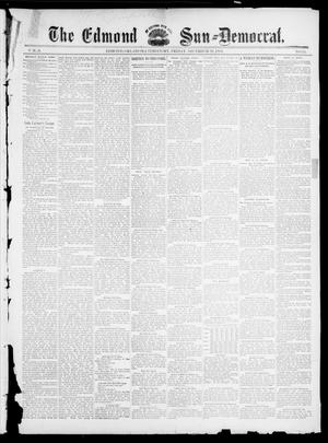 Primary view of object titled 'The Edmond Sun--Democrat. (Edmond, Okla. Terr.), Vol. 6, No. 25, Ed. 1 Friday, December 28, 1894'.