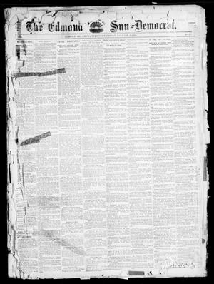 Primary view of object titled 'The Edmond Sun--Democrat. (Edmond, Okla. Terr.), Vol. 6, No. 26, Ed. 1 Friday, January 4, 1895'.