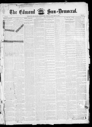 Primary view of object titled 'The Edmond Sun--Democrat. (Edmond, Okla. Terr.), Vol. 6, No. 27, Ed. 1 Friday, January 11, 1895'.