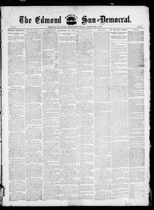 Primary view of object titled 'The Edmond Sun--Democrat. (Edmond, Okla. Terr.), Vol. 6, No. 31, Ed. 1 Friday, February 8, 1895'.