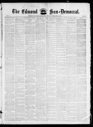 Primary view of object titled 'The Edmond Sun--Democrat. (Edmond, Okla. Terr.), Vol. 6, No. 32, Ed. 1 Friday, February 15, 1895'.