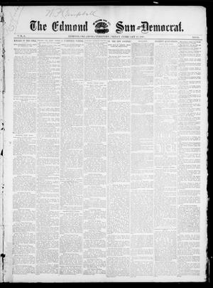 Primary view of object titled 'The Edmond Sun--Democrat. (Edmond, Okla. Terr.), Vol. 6, No. 33, Ed. 1 Friday, February 22, 1895'.