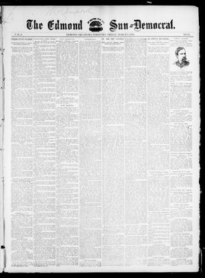 Primary view of object titled 'The Edmond Sun--Democrat. (Edmond, Okla. Terr.), Vol. 6, No. 35, Ed. 1 Friday, March 8, 1895'.