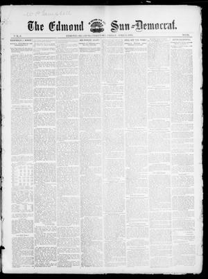 Primary view of object titled 'The Edmond Sun--Democrat. (Edmond, Okla. Terr.), Vol. 6, No. 39, Ed. 1 Friday, April 5, 1895'.