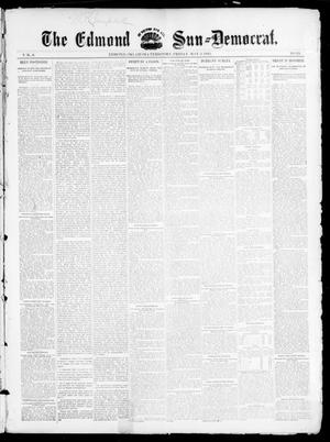 Primary view of object titled 'The Edmond Sun--Democrat. (Edmond, Okla. Terr.), Vol. 6, No. 43, Ed. 1 Friday, May 3, 1895'.