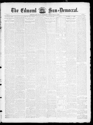 Primary view of object titled 'The Edmond Sun--Democrat. (Edmond, Okla. Terr.), Vol. 6, No. 45, Ed. 1 Friday, May 17, 1895'.