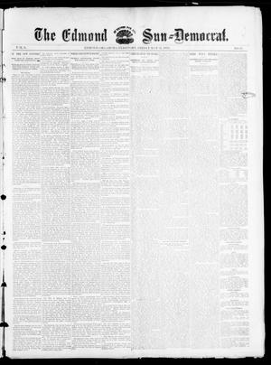 Primary view of object titled 'The Edmond Sun--Democrat. (Edmond, Okla. Terr.), Vol. 6, No. 47, Ed. 1 Friday, May 31, 1895'.