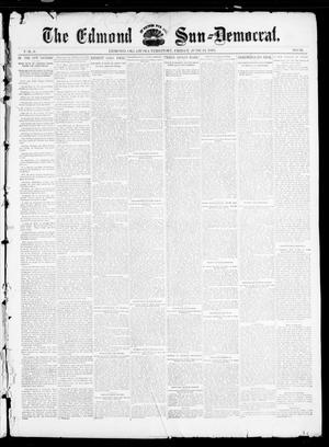 Primary view of object titled 'The Edmond Sun--Democrat. (Edmond, Okla. Terr.), Vol. 6, No. 50, Ed. 1 Friday, June 21, 1895'.