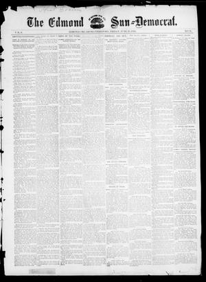 Primary view of object titled 'The Edmond Sun--Democrat. (Edmond, Okla. Terr.), Vol. 6, No. 51, Ed. 1 Friday, June 28, 1895'.