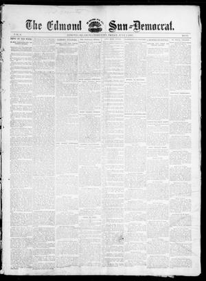 Primary view of object titled 'The Edmond Sun--Democrat. (Edmond, Okla. Terr.), Vol. 6, No. 52, Ed. 1 Friday, July 5, 1895'.