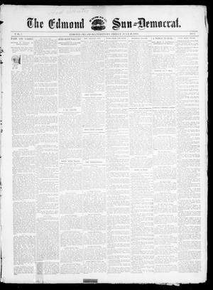 Primary view of object titled 'The Edmond Sun--Democrat. (Edmond, Okla. Terr.), Vol. 7, No. 2, Ed. 1 Friday, July 19, 1895'.